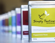 Simply Teatime has a large range of teas
